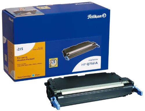 Pelikan Toner-Modul 1215c ersetzt HP Q7561A, Cyan, 3500 Seiten (Hp Q7561a Toner Cyan)