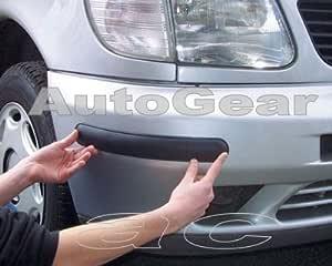 Richbrook Stoßstangenschutz Klebestreifen 510 Mm Gummi Schwarz 2 Stück Auto