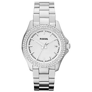 Fossil Damen-Armbanduhr Analog Quarz Edelstahl AM4452