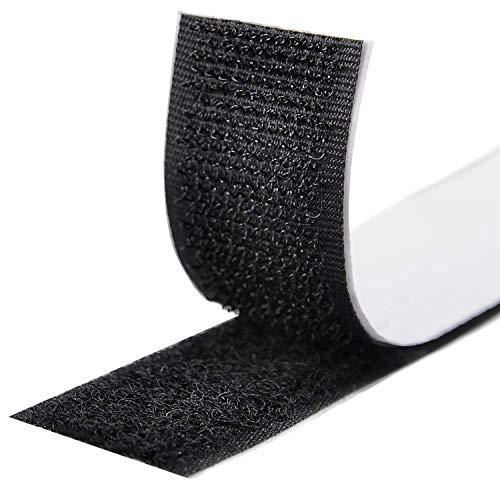 Fesoar Klettband Selbstklebend 8M Extra Stark,Doppelseitig Klebende