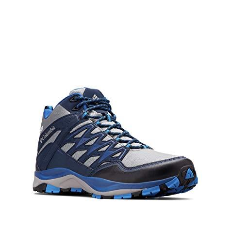 Columbia WAYFINDER Mid Outdry, Zapatos de montaña para Hombre, Azul Monument, Blue 037, 40 EU