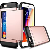 Best Coque Iphone 6 Plus Avec Protections d'écran - Coque iPhone 6 / 6s Porte-Carte et [2 Review