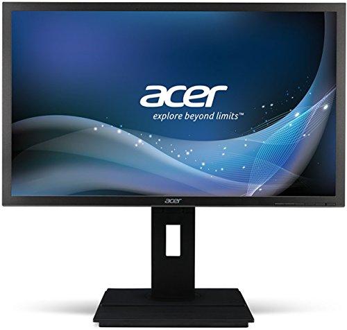 Acer-B246HYLAymidr-605-cm-238-Zoll-Monitor-VGA-DVI-HDMI-6ms-Reaktionszeit-Full-HD-Hhenverstellbar-Pivot-Funktion-Lautsprecher-Energieeffienzklasse-A-dunkelgrau