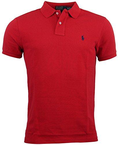 Ralph Lauren Herren Poloshirt Gr. Medium, rot