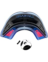 Brain-Pad 3XS Adult Ble-Black - Protector bucal doble para adultos, tamaño único, color azul y negro