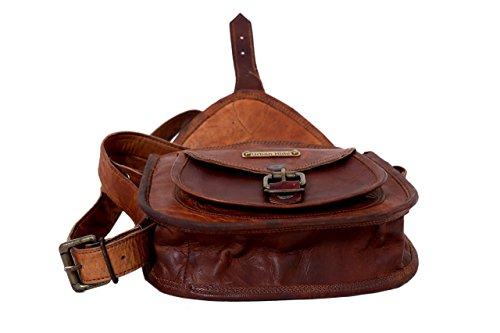Handmade Genuine Leather Ladies Satchel Purse Handbag  - 412jVEmcmpL - 12-Inches-Handmade-Genuine-Leather-Ladies-Satchel-Purse-Handbag-Leather-Messenger-Bag-for-Women-Free-Surprise-Gift