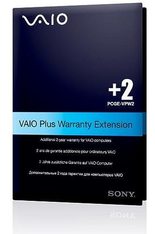 Sony Vaio PCGE-VPW2 Garantie-Erweiterung der Basisgarantie um 2 Jahre
