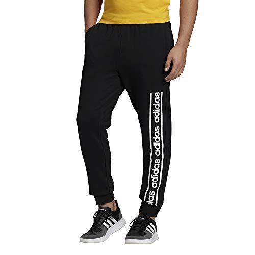 adidas Herren M C90 BRD Pant Hose, schwarz/weiß, M