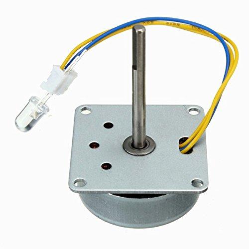 ILS - 3~24V DC DIY Micro Wind Generator Model Mini Wind Hand Motor Generator-plug-adapter