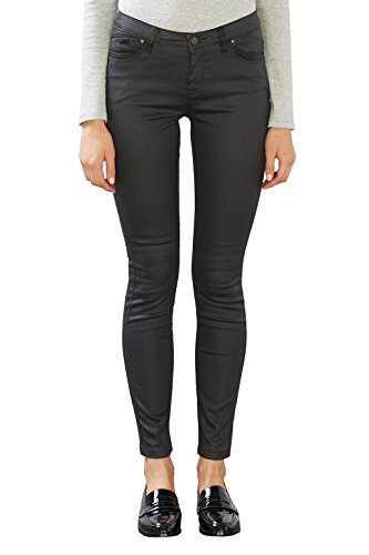 edc by ESPRIT Damen Hose Grau (Anthracite 010)