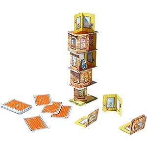 Haba – Juego de cartas  Rhino Hero, 2 a 5 jugadores (4092)