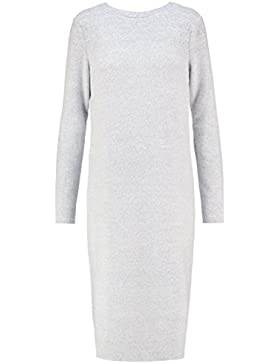 VERO MODA VMFALLON Strickkleid Kleid Damen light grey melange Grösse S