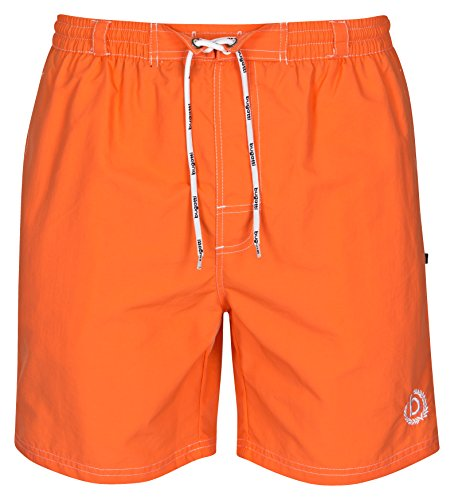 bugatti® - Herren Badeshort in orange, Größe L