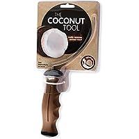Herramienta para separar la pulpa del coco de la cáscara de coco.