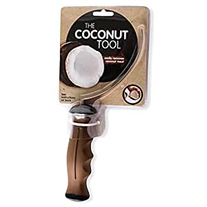 Outil pour ouverture de noix de coco