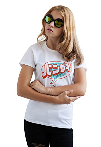 Strand Clothing - T-Shirt - Manches Courtes - Femme Blanc Blanc - Blanc - X-Large