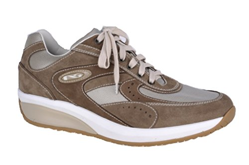 Nero Giardini Sneaker Homme En Chamois / Tissu, Printemps / Été P201131u - P201121u Tortora (cam Castoro)