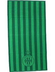 Drap / Serviette de bain ASSE - Collection officielle AS SAINT ETIENNE - 70 x 130 cm - Football
