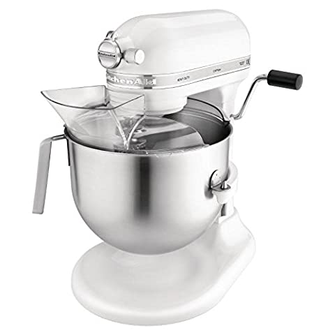 Kitchenaid 5KSM7591XBWH Heavy Duty Mixer, 1.3HP, 6.9 L Bowl, White