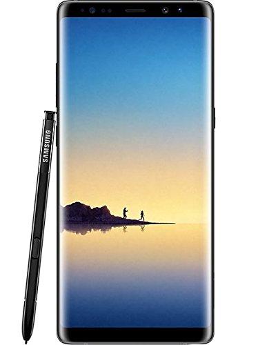 Samsung Galaxy Note 8 Duos SM-N9500 Dual-SIM 6GB RAM Smartphone UK Sim-Free Unlocked - 64GB Midnight Black (Licht Sn 8)