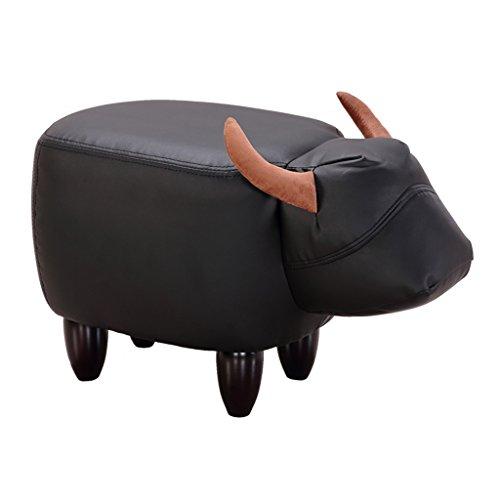 Fester hölzerner Stuhl für die Leute, die Schuhe, Hauptkaffeetisch-Sofa-Test-Schuhe tragen Kleiner Schemel (Länge: 61CM, Breite: 33CM, Höhe: 36CM) ( Farbe : B )