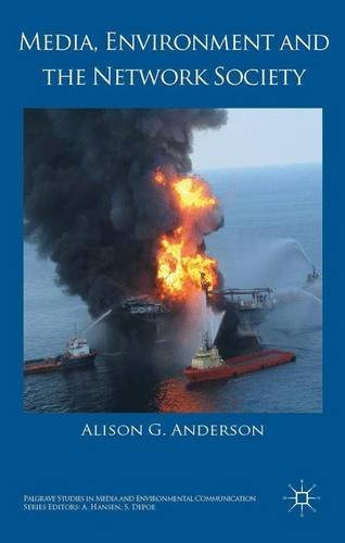 Media, Environment and the Network Society (Palgrave Studies in Media and Environmental Communication) by Alison G. Anderson (2014-09-19) par Alison G. Anderson
