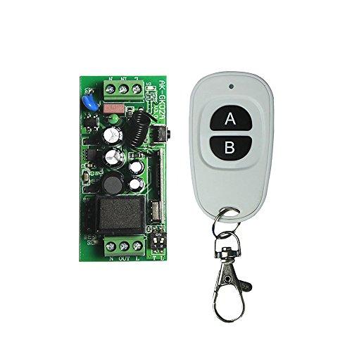 Lejin neue Design Funkschalter Fernbedienung + Funkempfänger AC 85V 110V 180V 220V 230V 240V Funksteuerung Funkschalter Mini Größe Licht Lampe Pumpe Wechselstrommotor Steuerung mit Fernbedienung