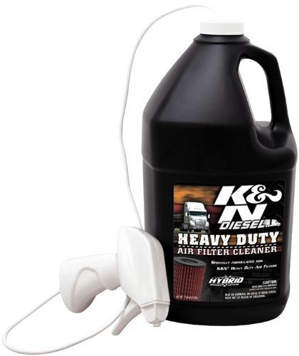K&N 99-0638 Heavy Duty Air Filter Cleaner - 1 Gallon by K&N - Kn Air Filter Cleaner