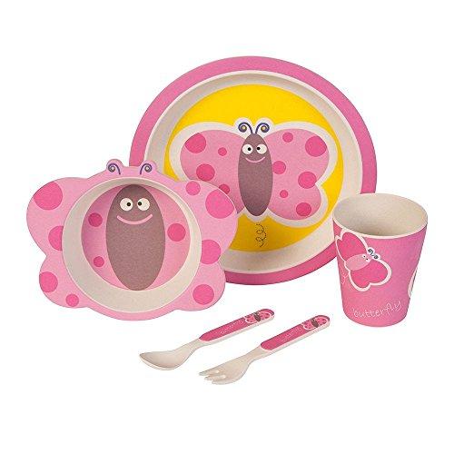 Set–couvert-Papillon-Ustensiles-en-bambou-Ustensiles-pour-enfants-rutilisables-Assiettes-Gobelets-Bol–muesli-cuillre-fourchette-rsistant-au-lave-vaisselle-sans-BPA