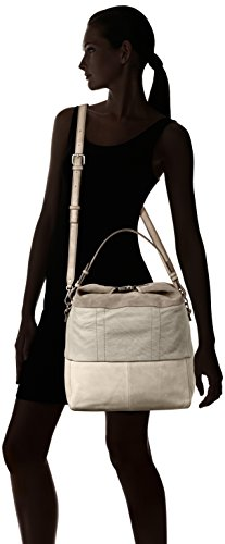 MARC O'POLO 70217441502104 Seventeen, Borsa bowling donna Taglia unica Grigio (Light Grey)