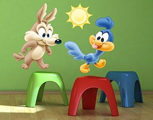 wandtattoo-baby-wile-e-coyote-baby-road-runner-b-x-h-60cm-x-41cm-von-klebefieberr