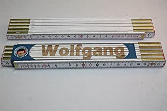 Mètre pliant avec le wOLFGANG gravure au laser qualité artisanale