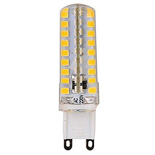 HBR Ampoules LED G9 350-400LM 220V 72LED SMD2835 5W (Couleur : Warm white)
