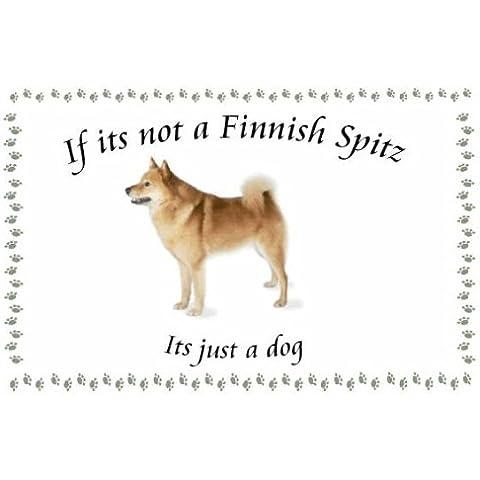 Spitz finlandese–Novelty Cane Portachiavi–Se non