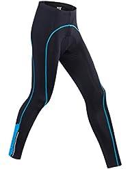 Gwell Pantalon de Cyclisme Homme Vêtement du Sport Vélo pour Printemps été Noir