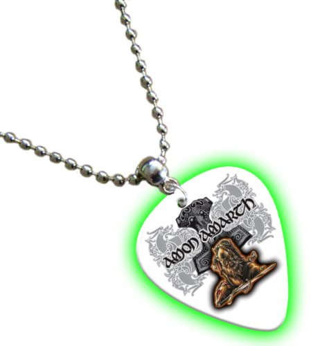 Amon Amarth Bagliore nel buio Chitarra Pick Collana Necklace Band Plettro Plettri