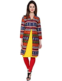 Pannkh Casual Full Sleeve Printed Women's Kurti