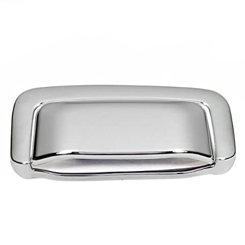 Set Of Durable Chrome Tailgate Handle Cover Warranty Adhesive Tape