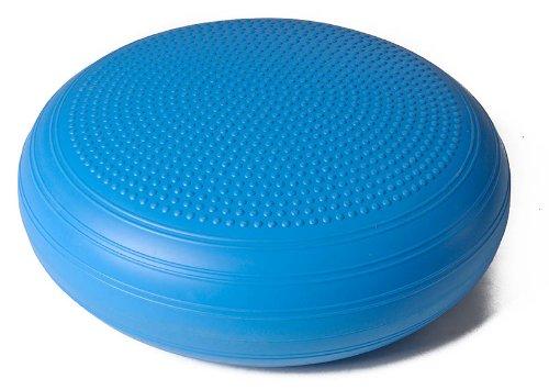 (Trendy Sport Bamusta COXIM XXL Softboard, Gymnastikkissen, Sitzkissen, Rückenkissen, Ø 50 cm in hellblau)