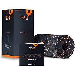 Blackroll Orange - Faszien-Rolle, inkl. Übungsbooklet