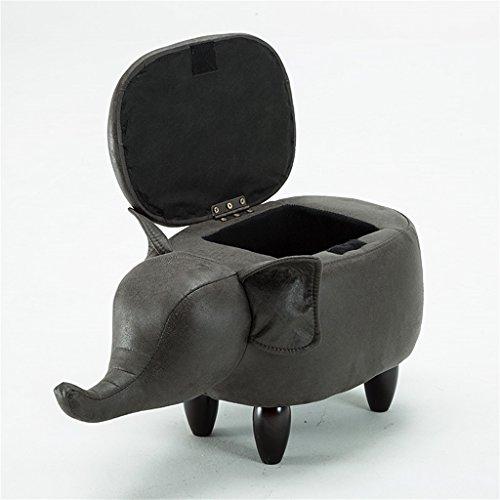Massivholz Sofa Stuhl Kreative Mode Persönlichkeit Kinder Lagerung Ändern Schuh Hocker (Länge: 63 cm, Breite: 33 cm, Hohe 36 cm) (Farbe : G) -