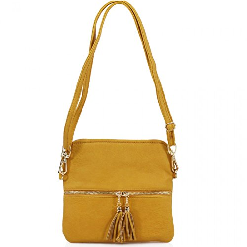 Arianna's Fashion, Borsa a tracolla donna Yellow