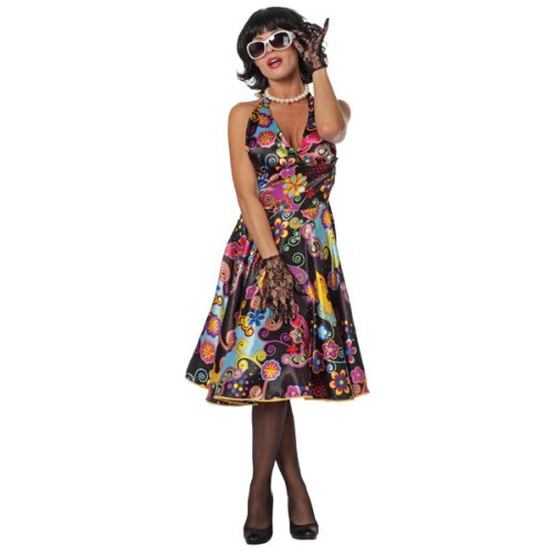 Damen-Kostüm Retro Pin-up, Gr. -