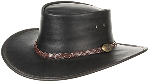 e8a4443d4a2f4 Swagman Leather Hat Jacaru men´s hat Australian hat (L 57-58