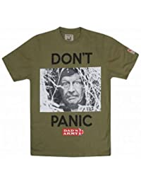 Dad's Army Corporal Jones Don't Panic T-Shirt