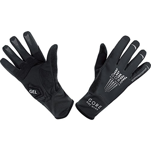 GORE BIKE WEAR XENON 2 0 WINDSTOPPER SOFT SHELL   GUANTES DE CICLISMO PARA HOMBRE  COLOR NEGRO  TALLA 8