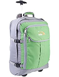 Cabin Hand Luggage Trolley Backpack with padded laptop compartment -Lyon+ by Cabin Max®