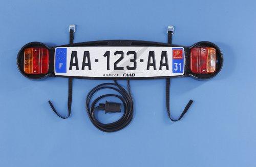 Mottez Plaque de signalisation pour Porte vélo arrière