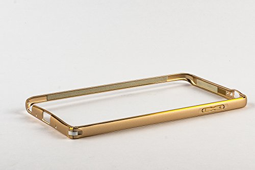 Purple Eyes Generic Metal Bumper Frame Case Cover Pouch For HTC Desire 620 (Gold)