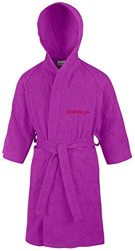 Speedo Microterry Bademantel für Erwachsene violett